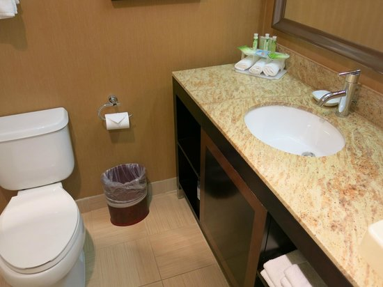 Holiday Inn Express Suites Belmont: room 304 bathroom