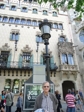 Paseo de Gracia (Passeig de Gracia): arquitectura modernista.