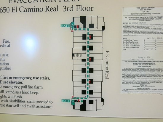 Holiday Inn Express Suites Belmont: Floor plan, 3F