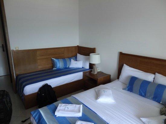 Hotel Perla: too small room