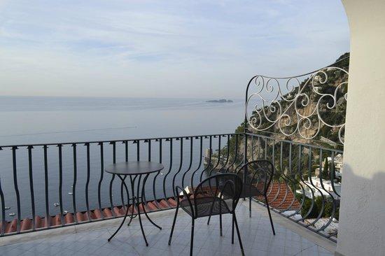 Hotel Il Gabbiano : Balcón de la habitación
