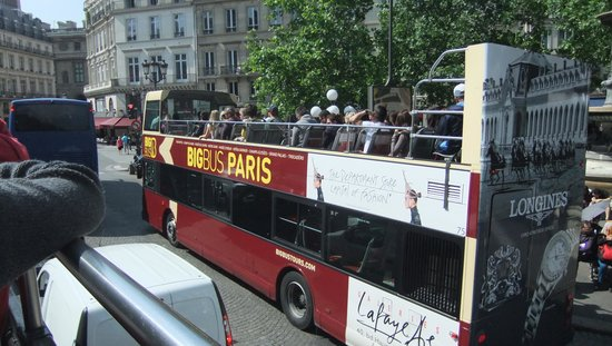 City Sightseeing Paris : The Big Red Bus