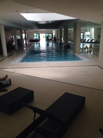 Valamar Lacroma Dubrovnik: Very warm lovely indoor pool