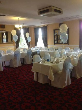 The Gretna Chase Hotel: the room decorated at the Gretna chase by the Gretna flower basket :-)