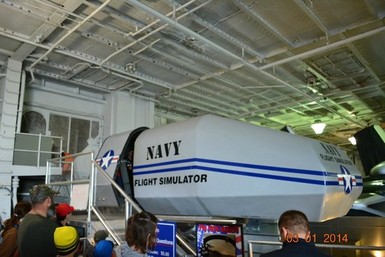 Patriots Point Naval & Maritime Museum: The NAVY simulator