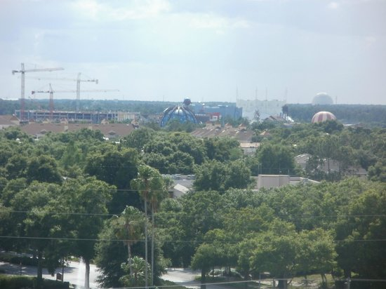 Blue Heron Beach Resort: view of downtown disney from 2-807 room