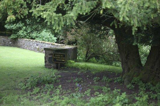 Thirlestane Castle: Thirlestane garden