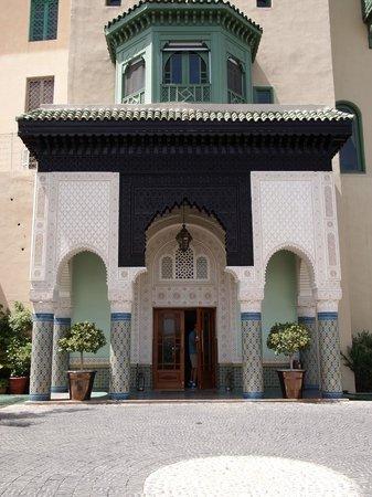 Palais Faraj Suites & Spa: Front of hotel
