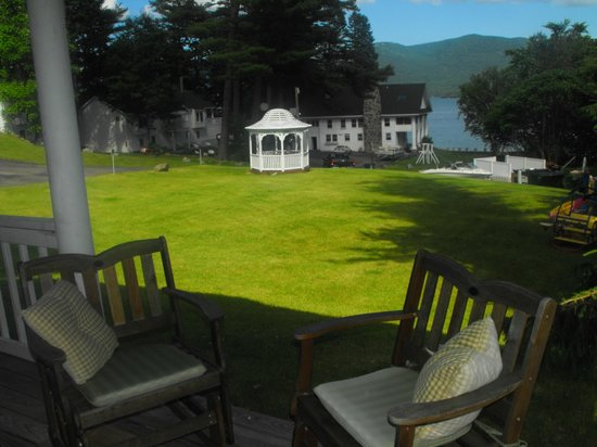 The Villas On Lake George: View from Queen Suite #28