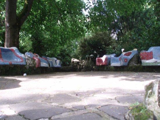 Parque de la Florida: Descanso con colorido