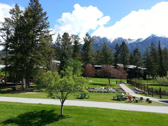 Fairmont Hot Springs Resort: view from our room