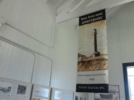 Point Arena Lighthouse: Museum (in former Fog Signal Building)