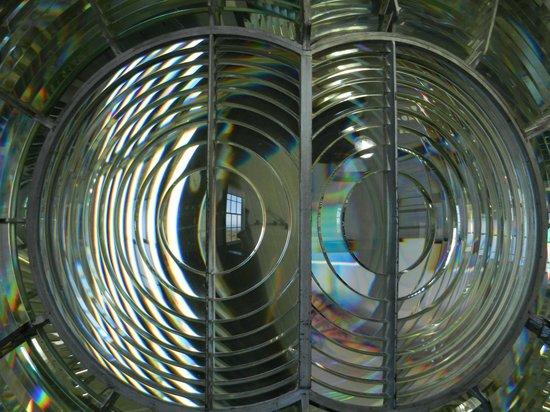 """Point Arena Lighthouse: Unique """"double Flash"""" Fresnel Lens"""