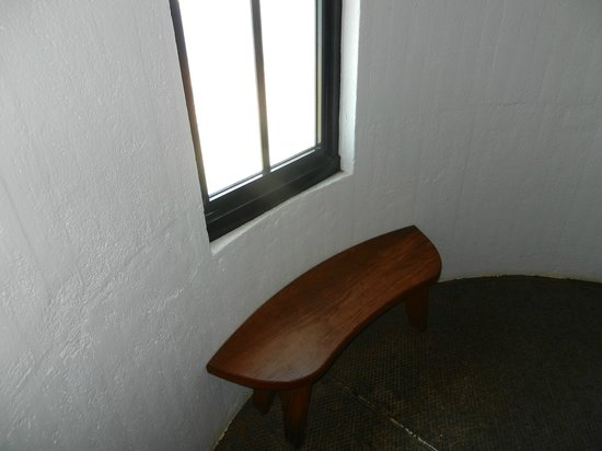 Point Arena Lighthouse : Window and Seat, Halfway Up the Tower