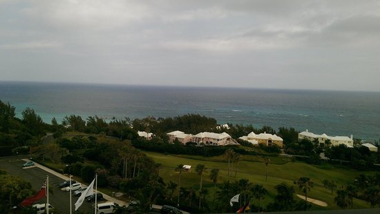 Fairmont Southampton: View from the balcony