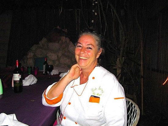 Lolo Lorena: Lolo radiant after dinner