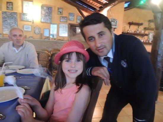 Domino's Restaurant: my daughter loved it