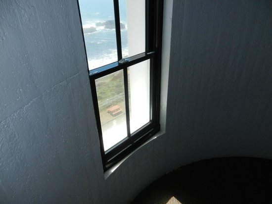 Point Arena Lighthouse : Second Level Window