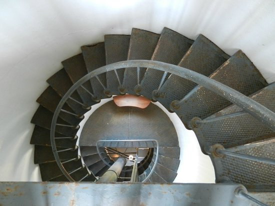 Point Arena Lighthouse : Ready to Climb Down?