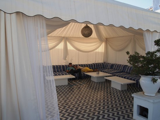 Lina Ryad & Spa : Tent on rooftop terrace