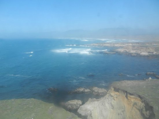 Point Arena Lighthouse: View to the North (Through Dirty Glass Windows)