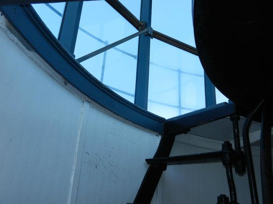 Point Arena Lighthouse: Final Step Ladder into the Lantern Room