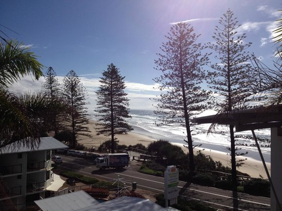 The Beach Retreat Coolum : View from our balcony