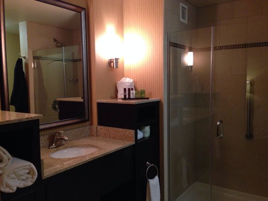 Embassy Suites by Hilton Columbus - Airport: Embassy Suites, Columbus, OH. Bathroom.