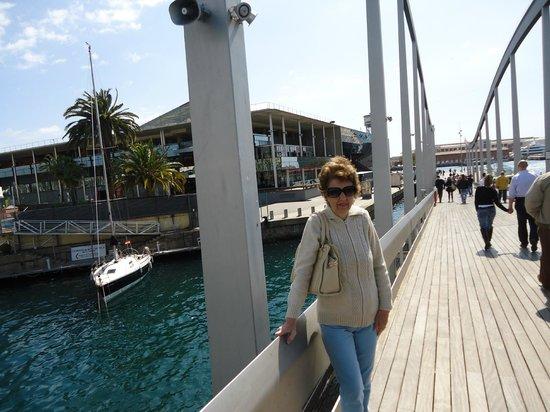 Rambla del Mar: Paseo costanero.