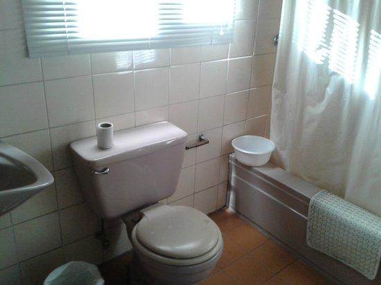 Hostal Casapaxi: Un baño muy limpio