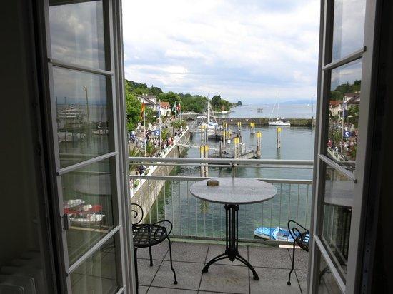 Hotel Seehof: Blick auf Hafen