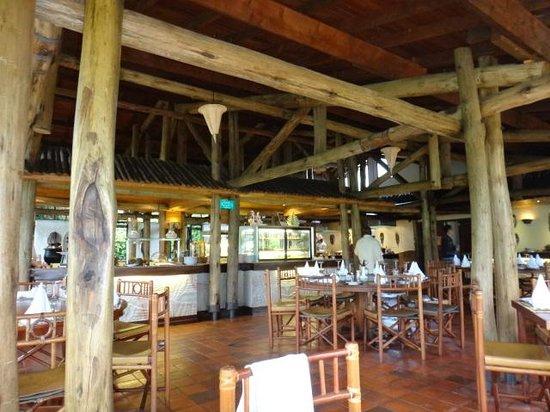 Sarova Lion Hill Game Lodge: Dining Room