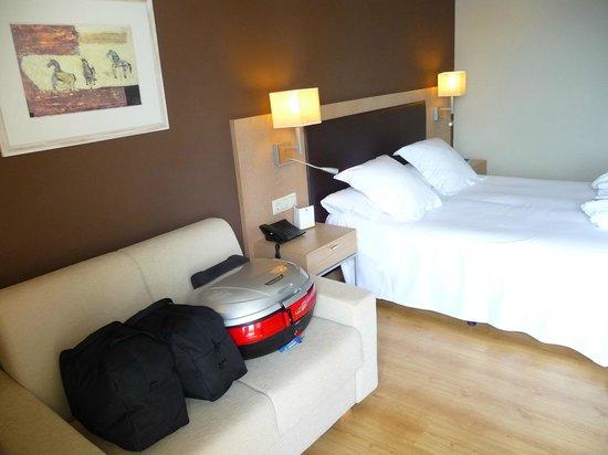 Hotel Guitart Monterrey: chambre