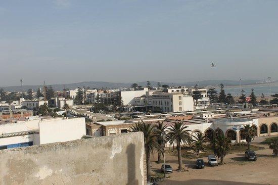 Hotel Riad Benatar: vue panoramique
