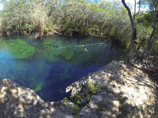 Cenote Crystal: Escondito