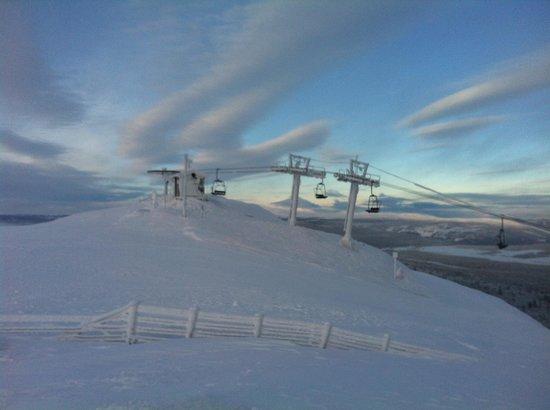 Kvitfjell Alpinanlegg: Yeah it was cold!