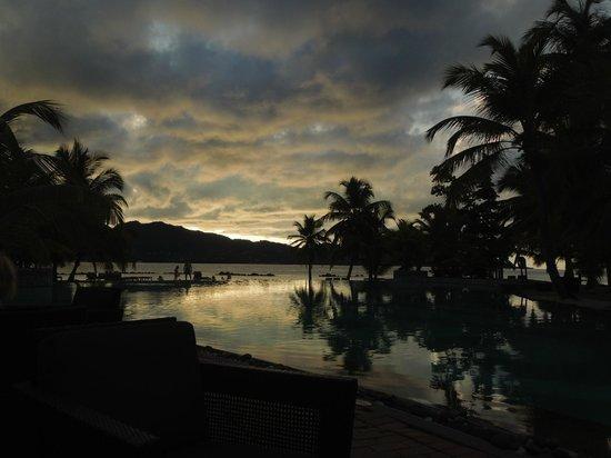 Beachcomber Seychelles Sainte Anne: pool view