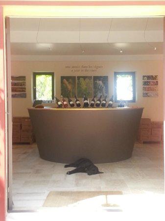 Domaine de Mourchon : Tasting Room Entry