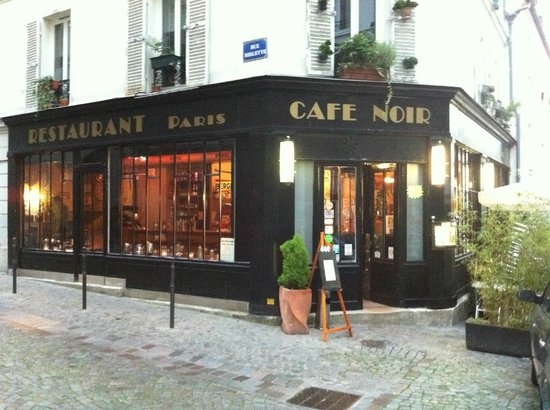 Cafe Noir  Paris