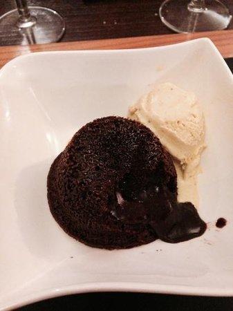 Tout a la Plancha : fondant au chocolat