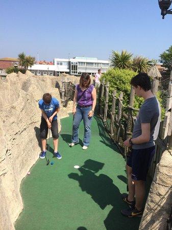 Treasure Island: Finishing the hole!