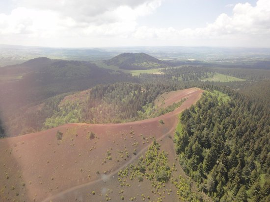 Sarl Heli Volcan Tours: Le puy de la Saulas
