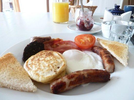 Eaglehill B&B: An excellent Irish breakfast