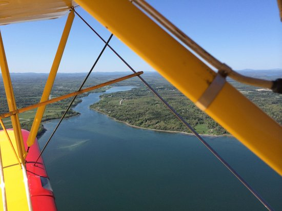 Acadia Air Tours : In flight!