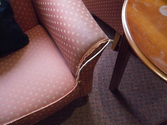 The Plaza Hotel: Torn Chair