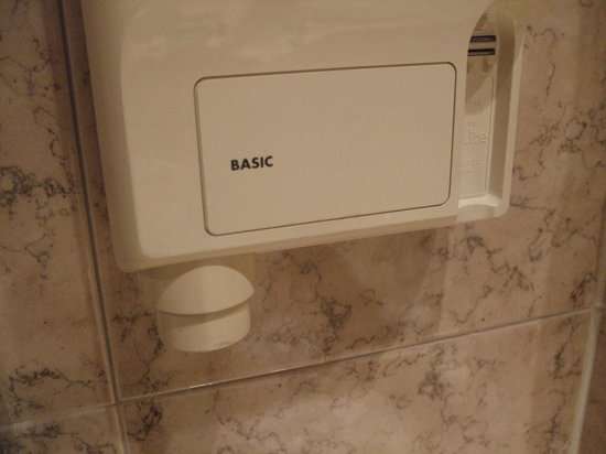 The Plaza Hotel: Bathroom