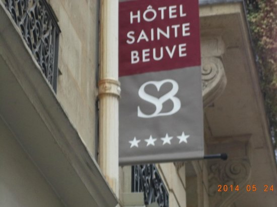 Hotel Sainte Beuve : Hotel sign, 4 star in Montparnasse