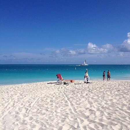 Grace Bay Beach at the Royal West Indies Resort