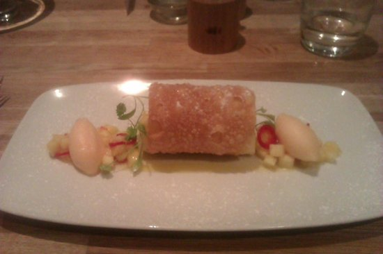 Gravy Boesti: Mango & chilli desert - delicious!!