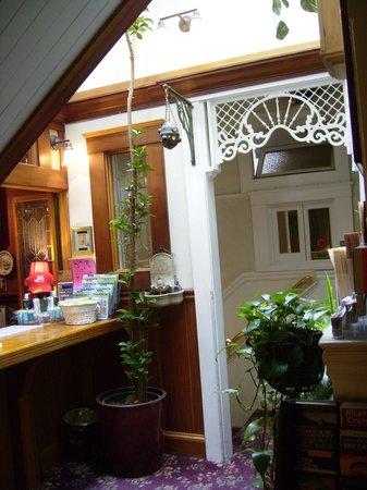 San Remo Hotel: Vid receptionen